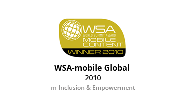 WSA Global Mobile Award - 2010